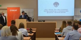Dzielenie się wiedzą ze studentami - Inteligencja Finansowa 2019